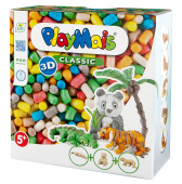 PlayMais® CLASSIC 3-D WILD ANIMALS