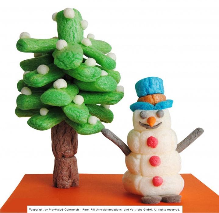 playmais weihnachten und winter playmais